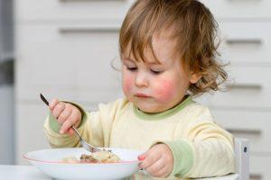 Ребенок с пищевой аллергией
