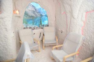 Соляная комната изнутри