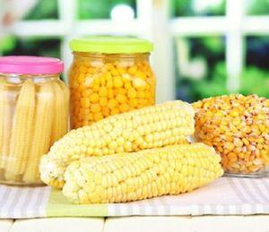 Продукты с кукурузой