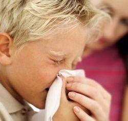 Аллергия у школьника