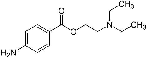 Химическая формула прокаина