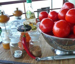 Ингредиенты для кетчупа
