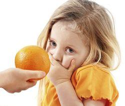аллергия на апельсины симптомы фото