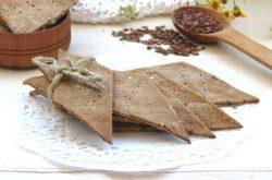 Хлебцы из ржаной муки для аллергиков
