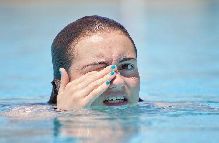 Аллергия на бассейн на коже фото