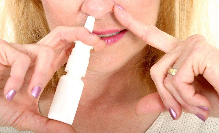 Спрей от заложенности носа от аллергии