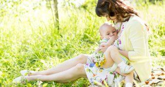Миниатюра к статье Одна проблема на двоих: аллергия у кормящей мамы